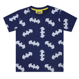 Batman Metallic Repeat Print Kid's T-Shirt