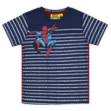 Spider-man Web Stripe Kid's T-Shirt