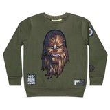 Chewbacca Embroidery Badges Kid's Sweatshirt