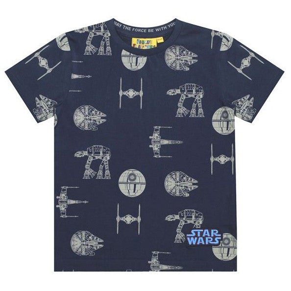 Star Wars Repeat Transporter Print Kid's T-shirt