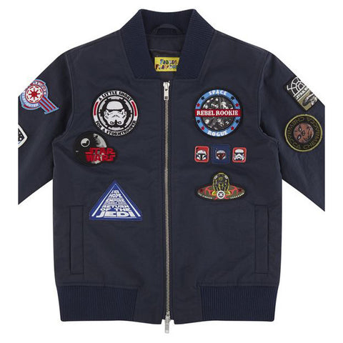 Star Wars Kid's Bomber Jacket With Badges