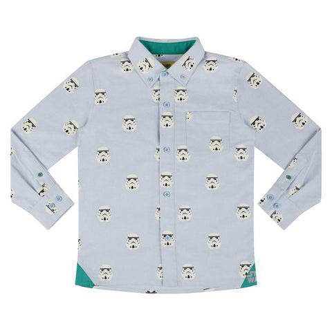 Stormtrooper Button Down Kid's Oxford Shirt