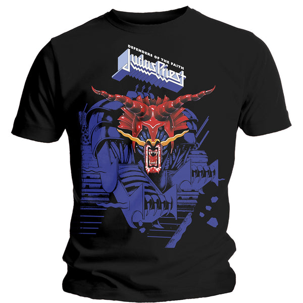 Judas Priest T-Shirt - Defenders Blue