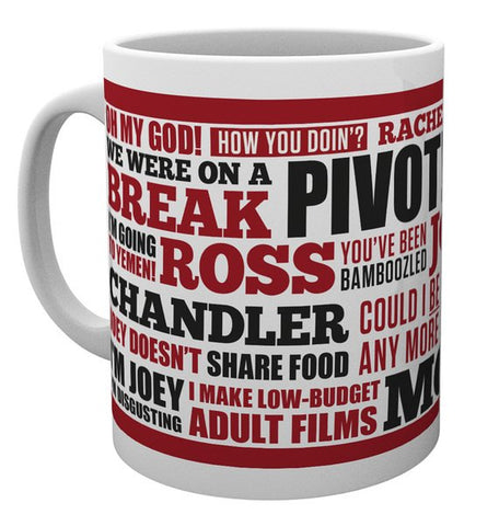 Friends Quotes Mug