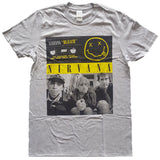 Nirvana T-Shirt - Bleach Cassettes, Grey