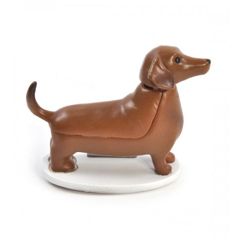 SOLAR DASHUND FIGURE