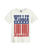 Willie Nelson white T-shirt Backstage Originals.jpg