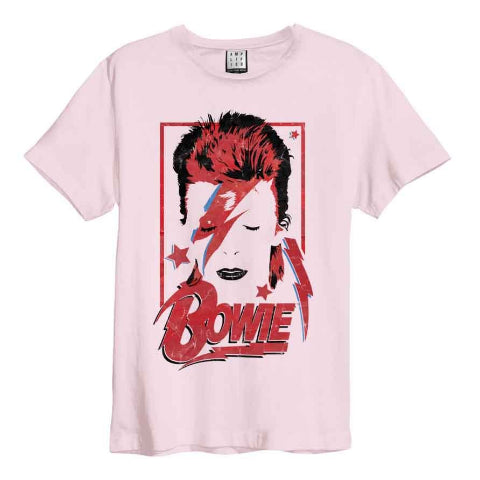 Backstage Originals Bowie Aladdin Sane Pink 182 Amplified Men's T-shirt