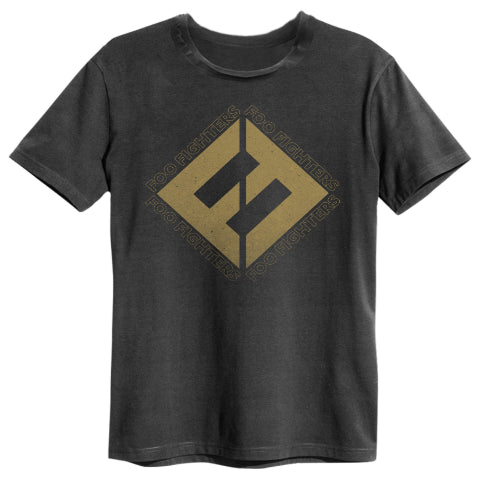 Backstage Originals Foo Fighters Concrete and Gold Amplified Men's T-Shirt