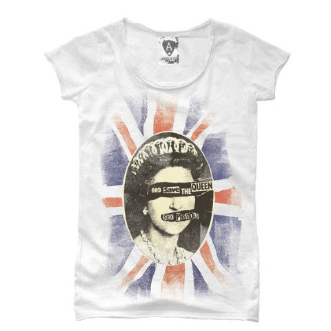 Sex Pistols God Save the Queen Amplified  Women's T-shirt