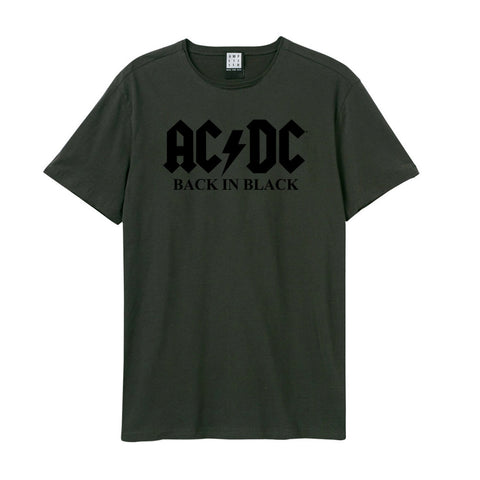 AC/DC Logo Flock Amplified T-Shirt