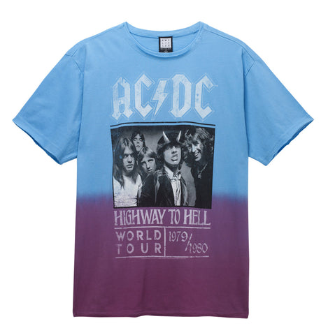 AC/DC Highway To Hell Poster Mens T-shirt