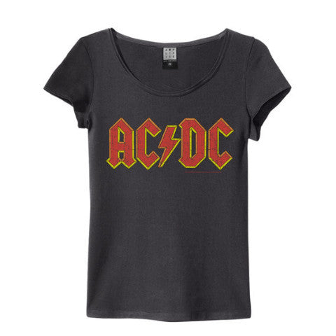 ACDC LOGO WOMEN'S T-SHIRT