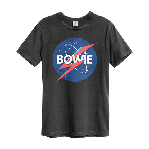David Bowie Men's T-Shirt - To The Moon