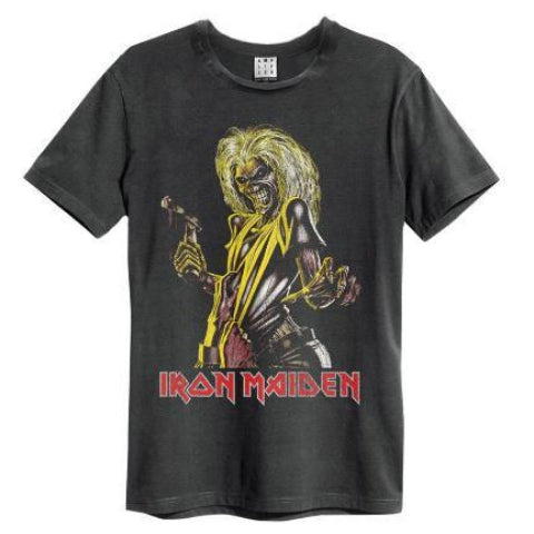 Iron Maiden Killer Amplified charcoal Men's T-shirt