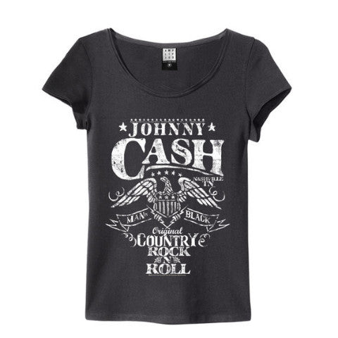 JOHNNY CASH EAGLE WOMEN'S T-SHIRT