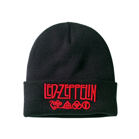 Led Zeppelin Logo Headwear