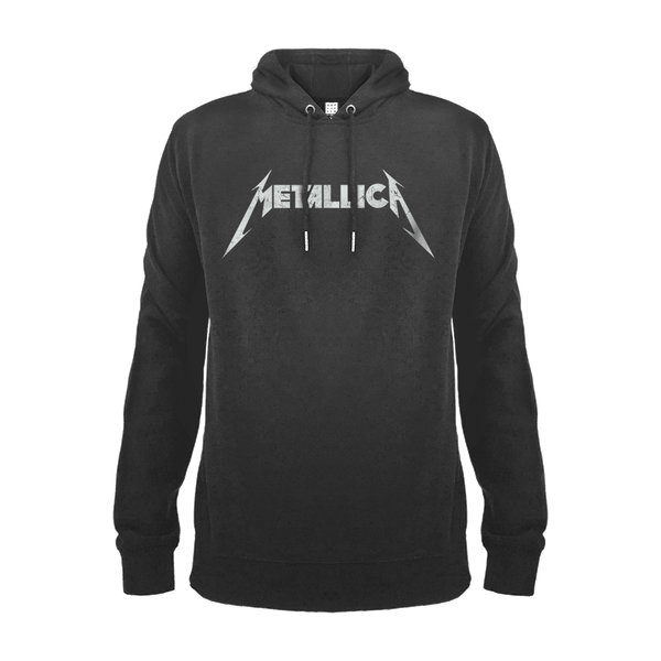 Metallica White logo backstage originals london amplified hoodie