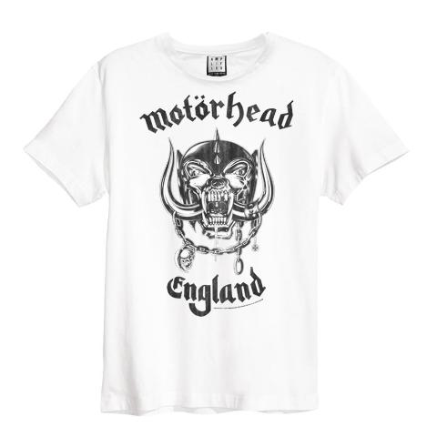 Motorhead England White Mens Amplified T-shirt