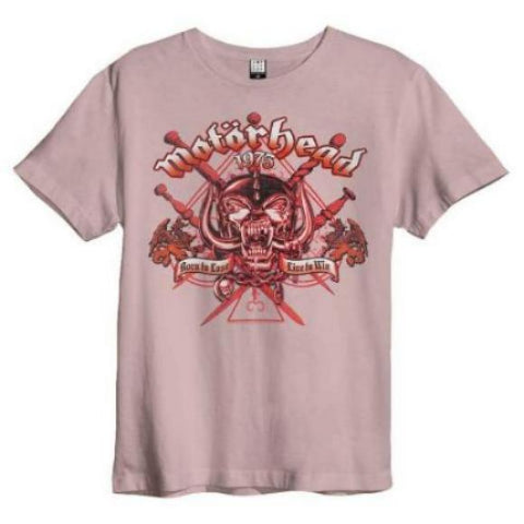 Backstage Originals Motorhead Live To Win Amplified T-shirt