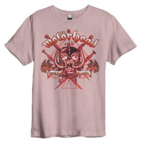 Motorhead Live To Win Amplified T-shirt