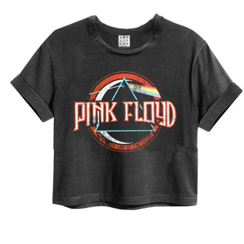 Pink Floyd On The Run Amplified Crop Top