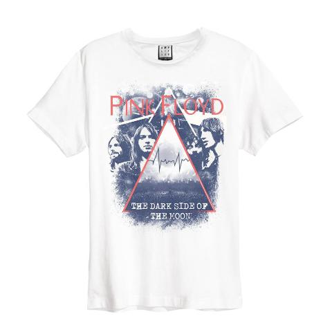 Pink Floyd Pyramid Faces Amplified charcoal Men's T-shirt