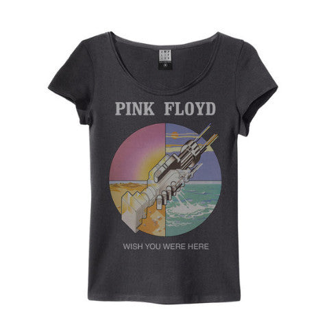 Pink Floyd Wish You Were Here Amplified charcoal Women's T-shirt