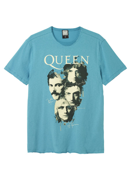 Queen Autographs Amplified T-shirt
