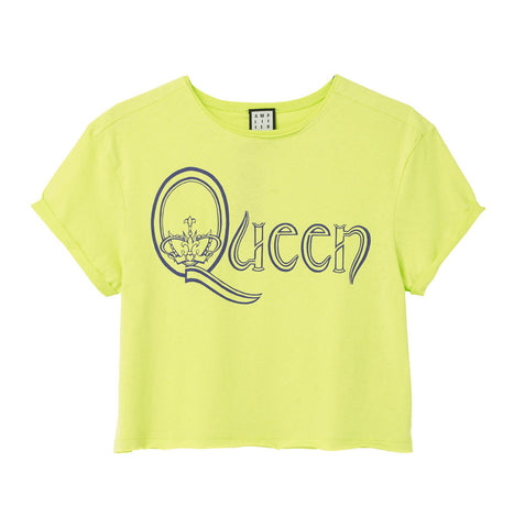 Queen Royal Logo Crop Top