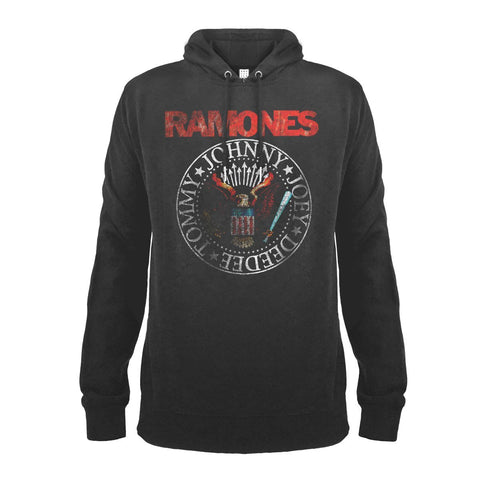 Ramones Red Seal Amplified  Hoodie