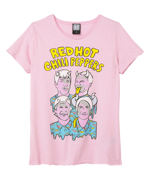 Red Hot Chilli Illustrated Peppers Ladies T-shirt