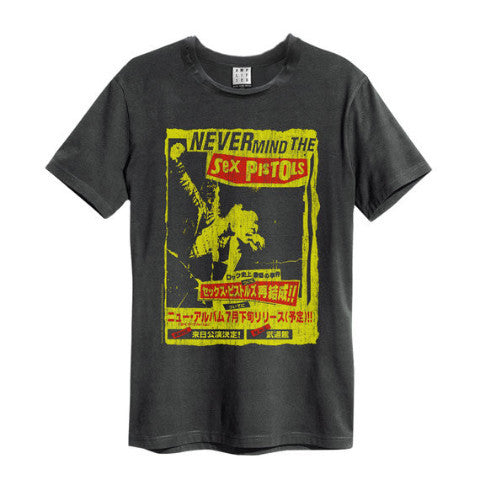 Backstage Originals Sex Pistols Never Mind the Bollocks Amplified Tee