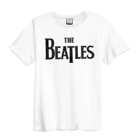 Backstage Originals Beatles Logo Amplified Tee White