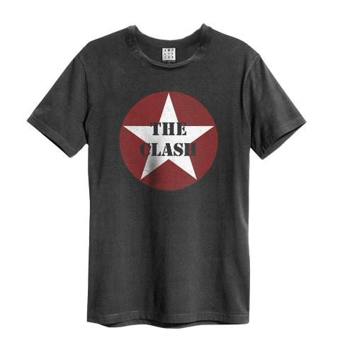 The Clash Star Logo Amplified Mens T-Shirt
