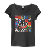Who By The Who Amplified charcoal Women's T-shirt