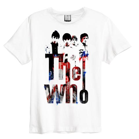 The Who Graffiti Amplified Mens T-Shirt