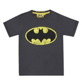Batman Logo Vintage Wash Kid's T-Shirt
