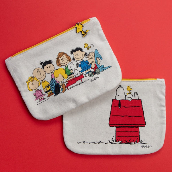 SNOOPY & GANG & HOUSE POUCH