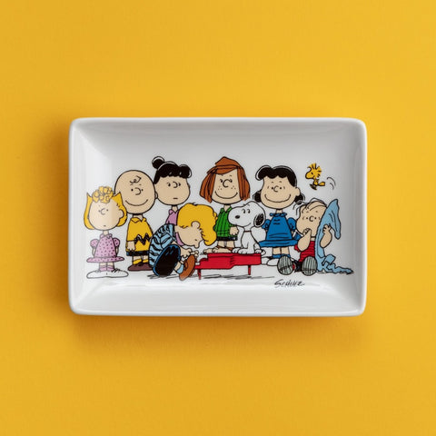 SNOOPY GANG TRINKET TRAY