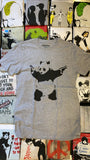 Panda With Guns Men's T-shirt