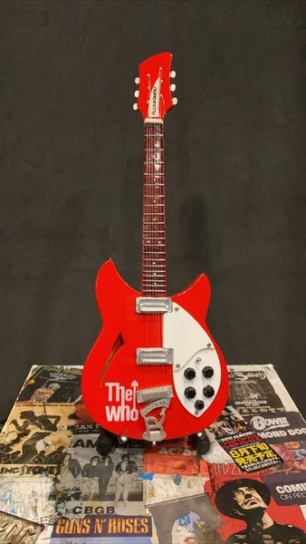 The Who Pete Townshend Miniature Guitar