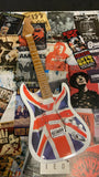 Union Jack Stratocaster Miniature Guitar