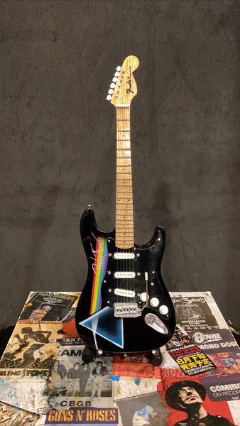 Pink Floyd Dark Side Fender Miniature Guitar
