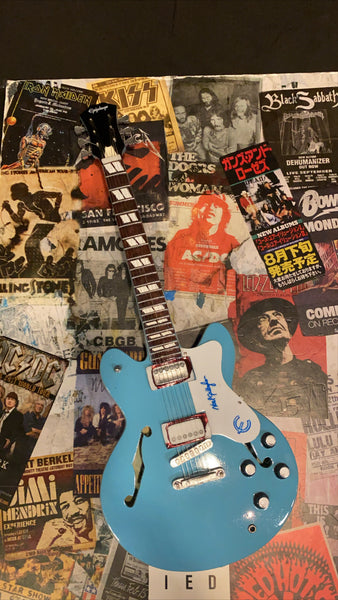 Noel Gallagher Epiphone Miniature Guitar