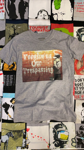 Banksy Trespassing Men's T-shirt