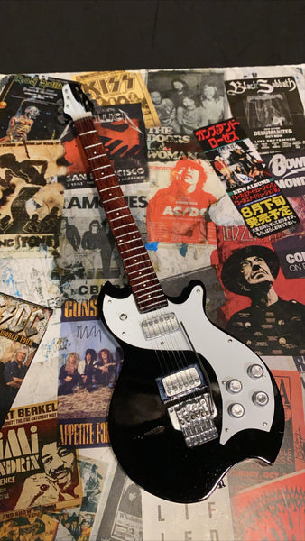 Bon Jovi Miniature Guitar