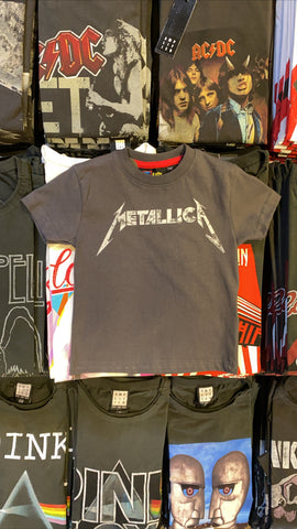 Metallica Logo Amplified Kids T-shirts