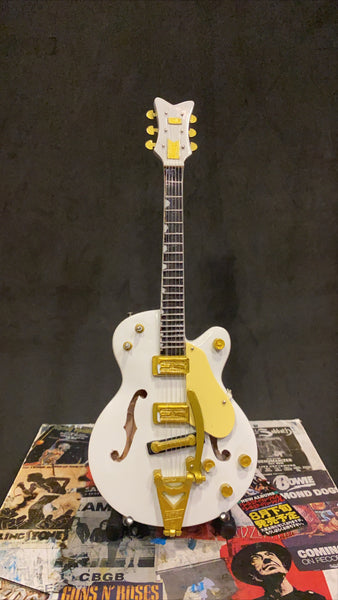 White Falcon Miniature Guitar