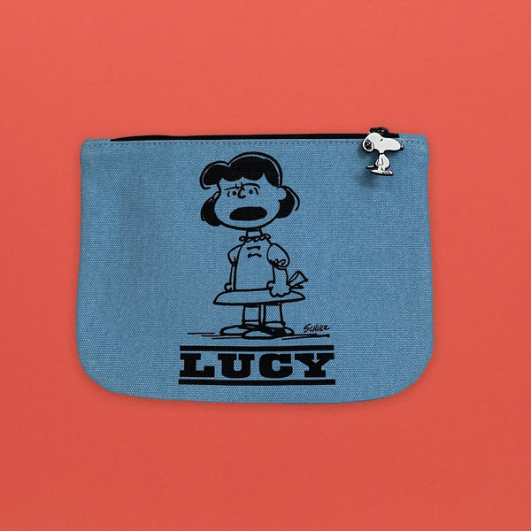 Snoopy Pouch Lucy